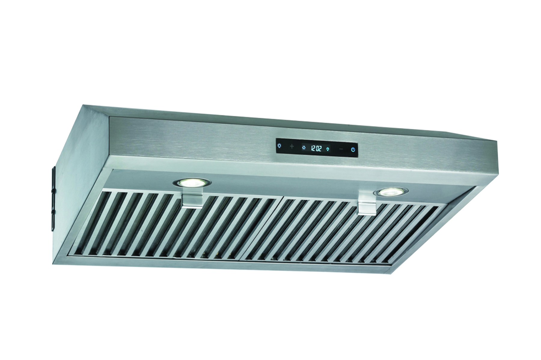 "30"" Wall Mount Stainless Steel Range Hood Dual Motor Fan - Click Image to Close"