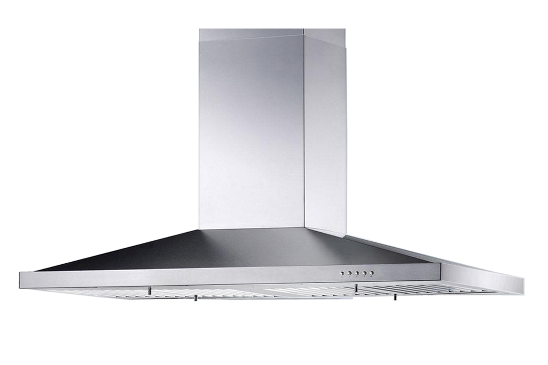 "36"" Island Stainless Steel Range Hood Vent Free Charcoal Filter - Click Image to Close"