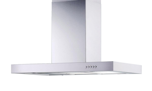 "30"" Island Stainless Steel Range Hood Vent Charcoal Filter"
