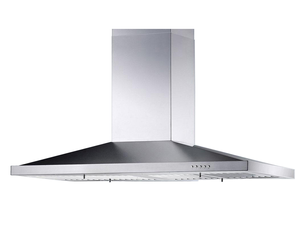 "30"" Island Stainless Steel Range Hood Vent Charcoal Filter - Click Image to Close"