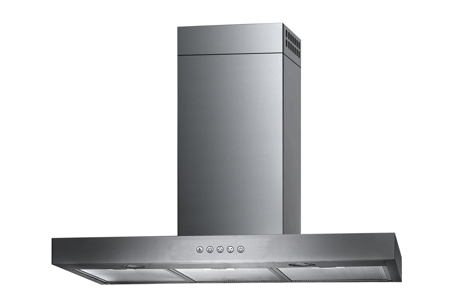 "30"" Wall Mount Stainless Steel Range Hood Free Charcoal Filter - Click Image to Close"