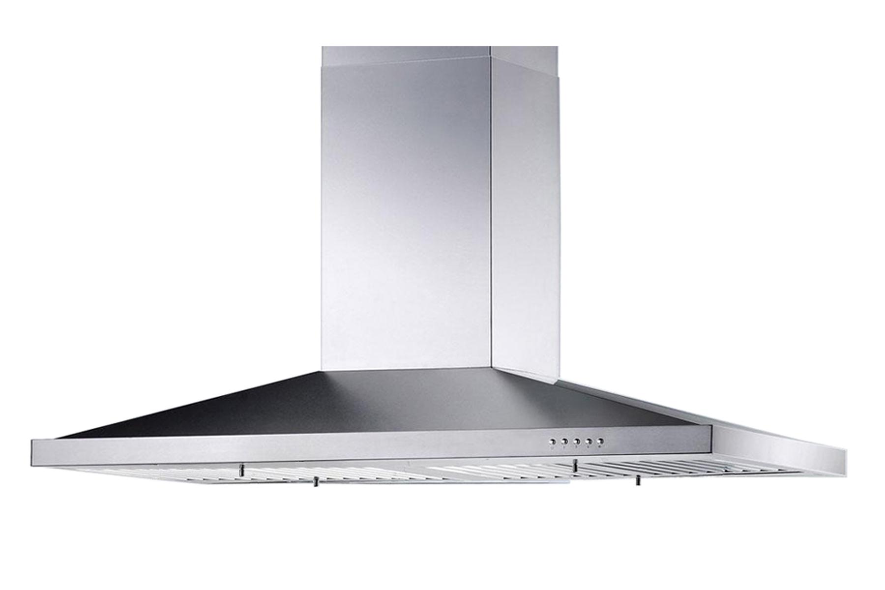 "stainless steel 36"" kitchen range hood island 3 speeds"