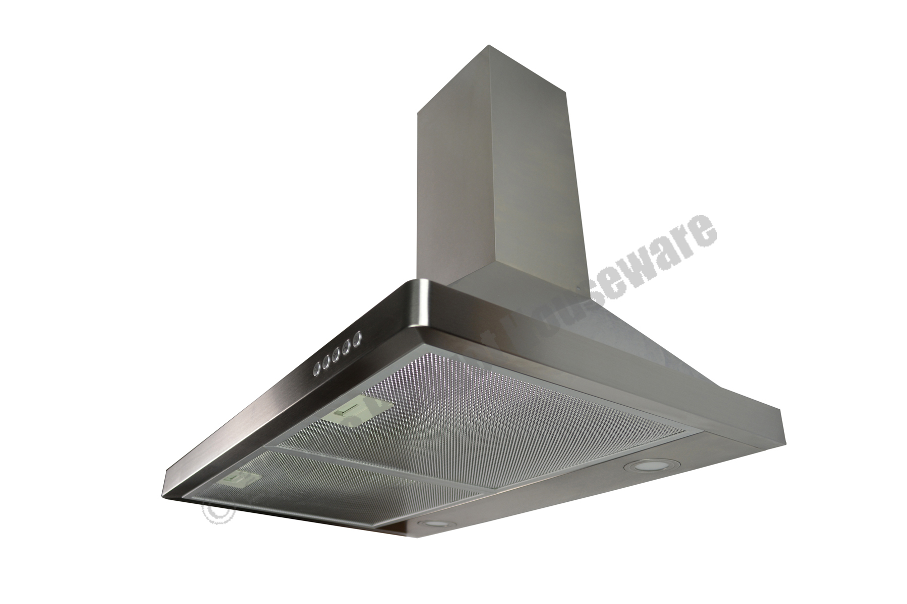 "Stainless Steel 30"" Kitchen Range Hoods Wall Mount Stove Ventilation Sys"