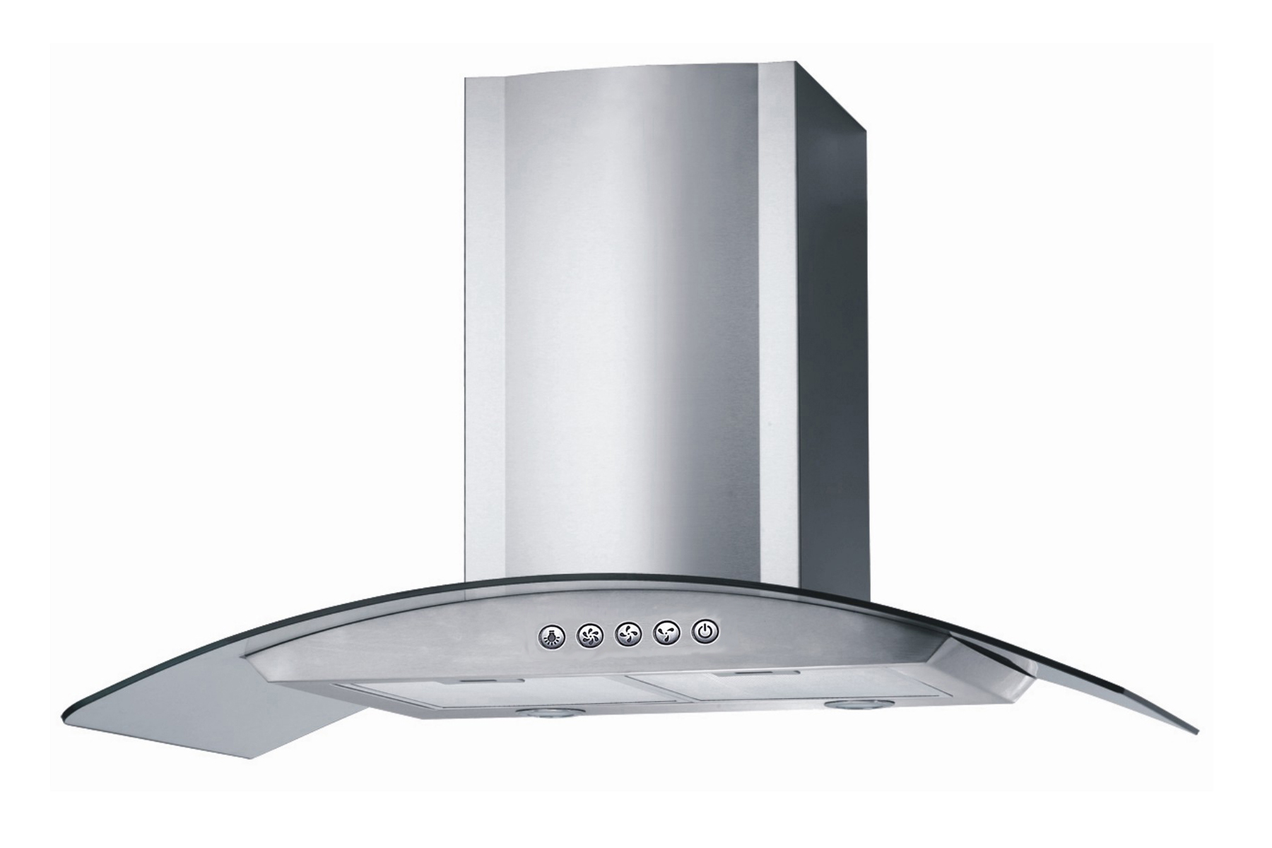 New 30 stainless steel wallmount range hood kitchen cook for Kitchen exhaust fan in nepal