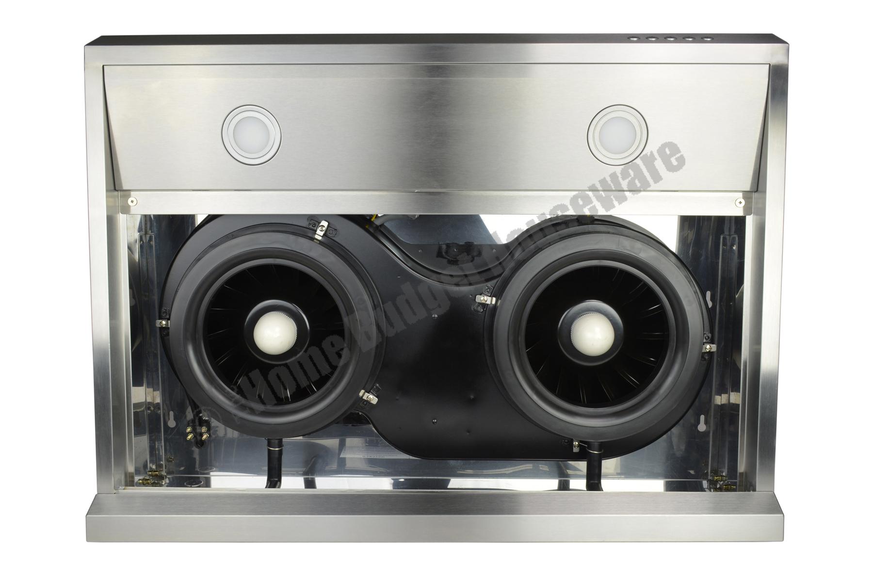 30 Stainless Steel Under Cabinet Range Hood Kitchen Fan 3