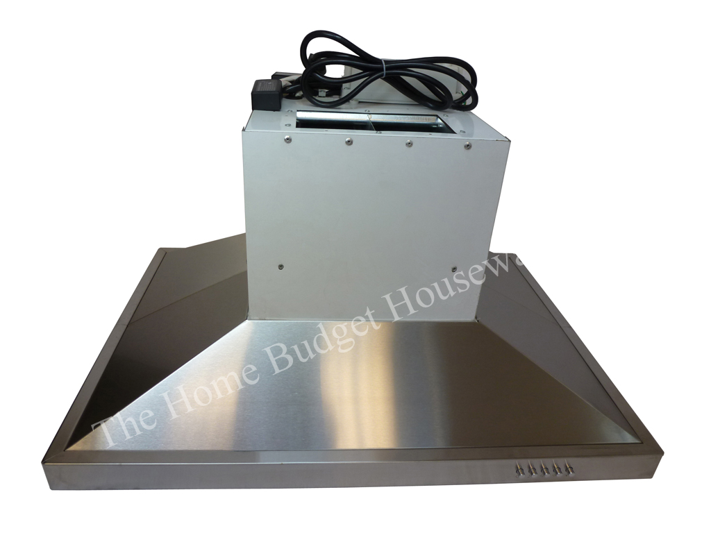 Stove Ventilation Systems : Stainless steel quot kitchen fan oven range hoods island