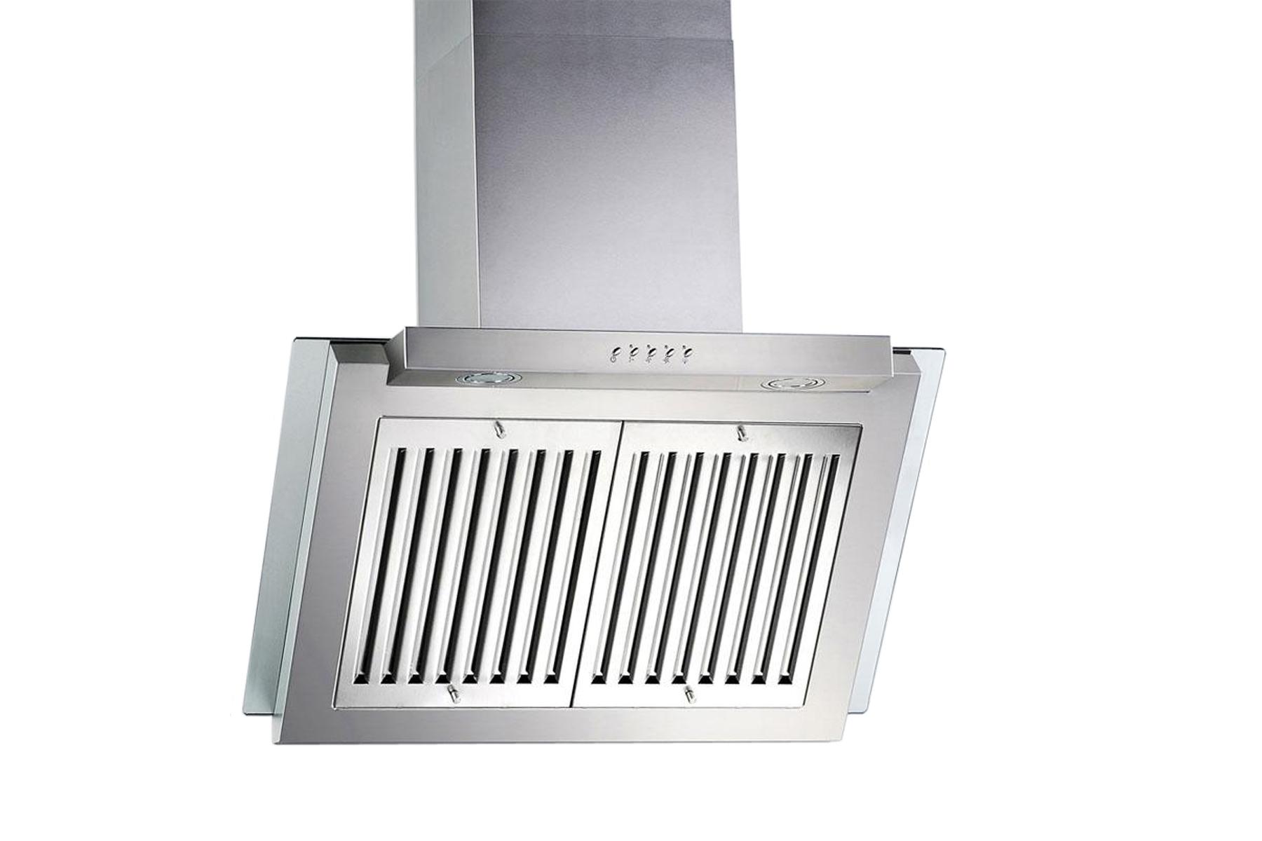 stainless steel 30 kitchen range hoods wall mount ventilation system 3 speeds. Black Bedroom Furniture Sets. Home Design Ideas
