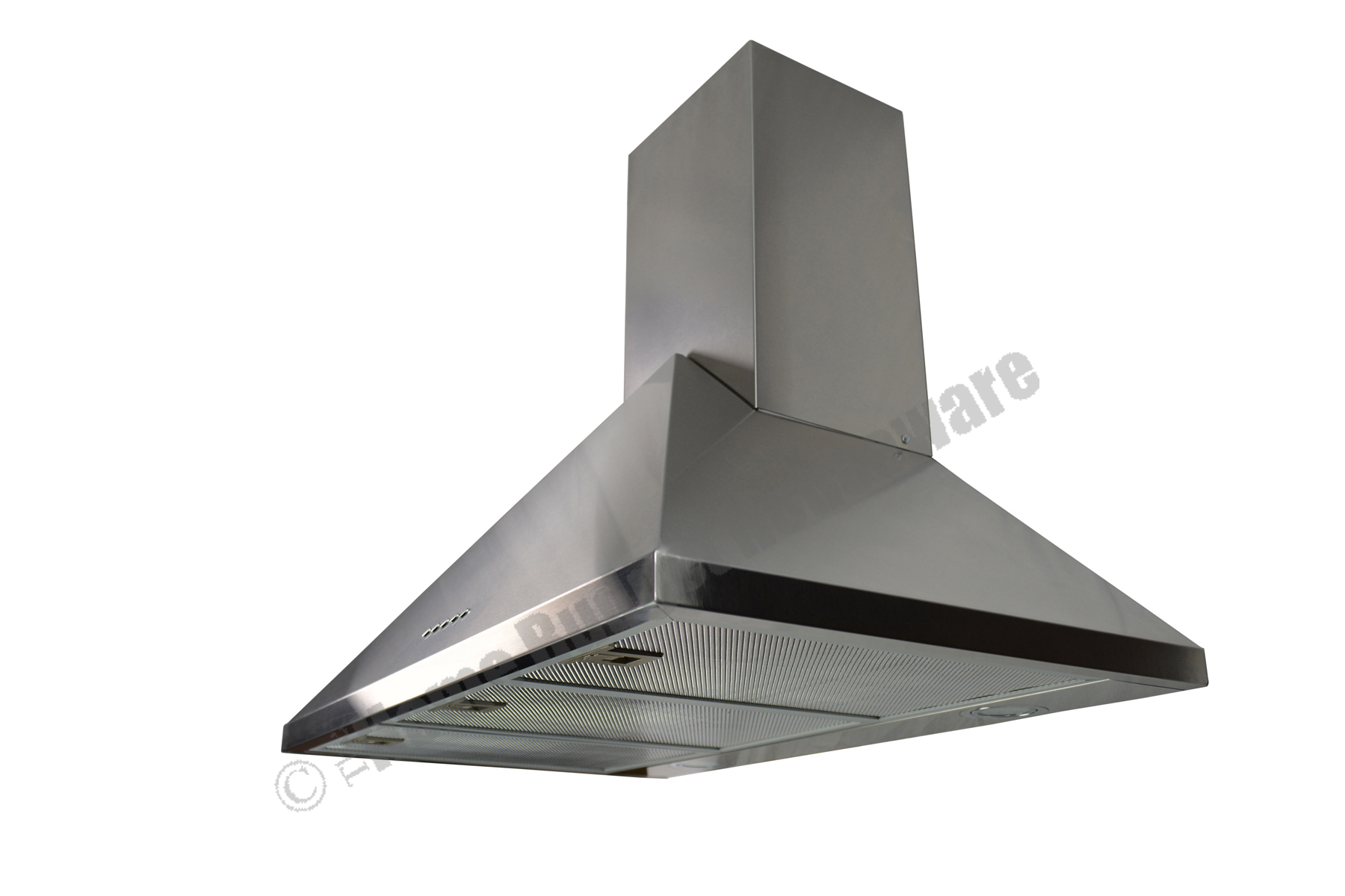 "Stainless Steel 30"" Range Hoods Wall Mount Kitchen Ventilation System"