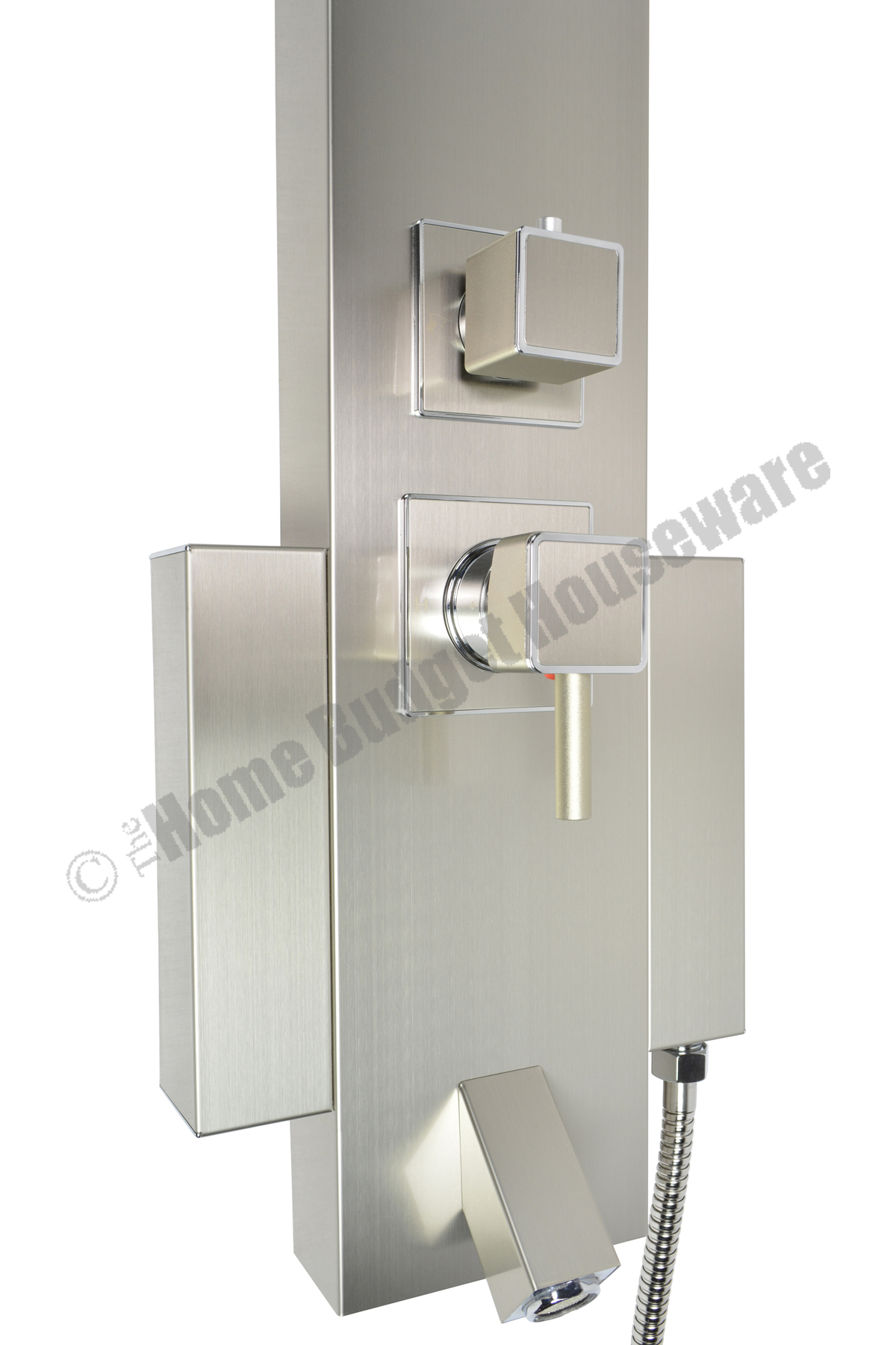48 Shower Panel With Rainfall Showerhead Tub Spout Sps822