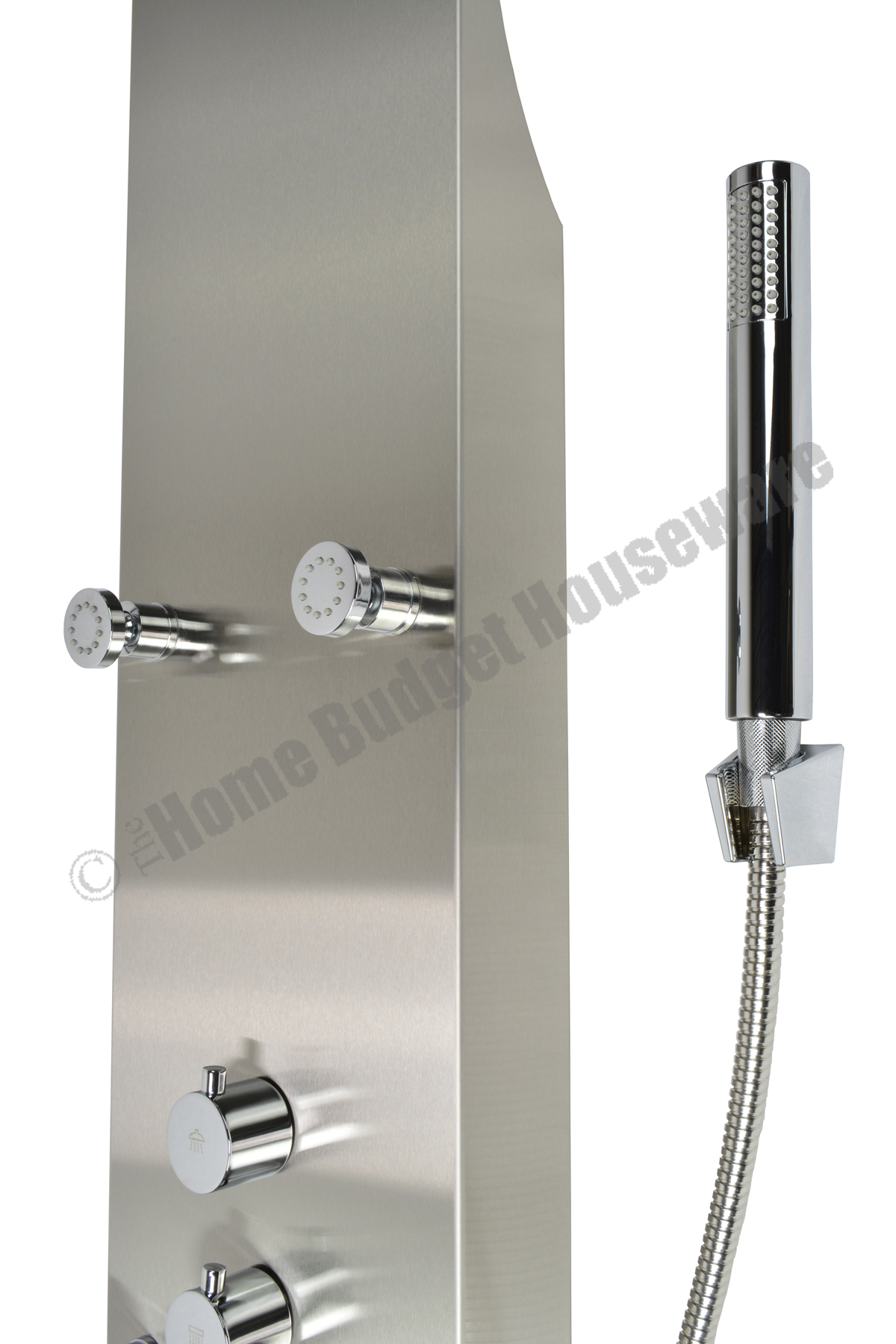 wide pressure inch shower chrome flow w finish rainluxe drenching jets high rainshower rainfall overhead head waterfall products